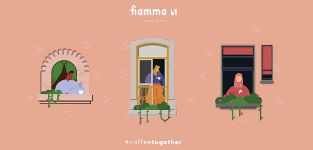 Há uma campanha a convidar para um café, sem sair de casa...