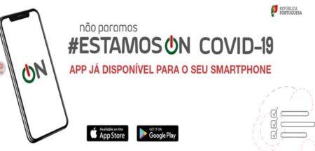 Aplicação Covid-19 – Estamos On já está disponível