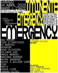 Festival Iminente apresenta edição solidária e online